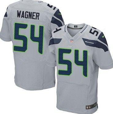 Nike Seattle Seahawks #54 Bobby Wagner Gray Elite Jersey | NFL  free shipping