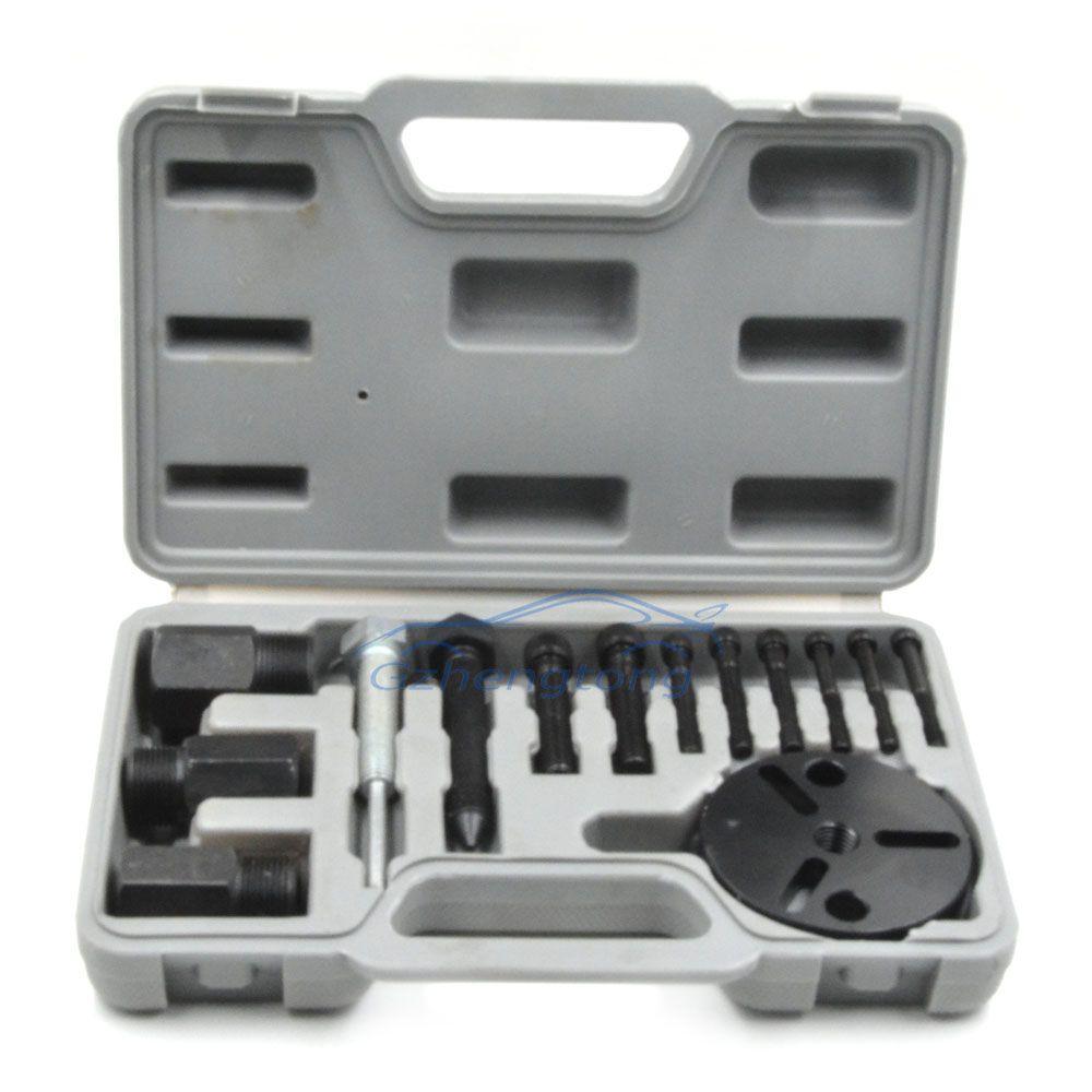 Universal Car AC Compressor Clutch Sucker Puller Kit Air Conditioning RepairTool