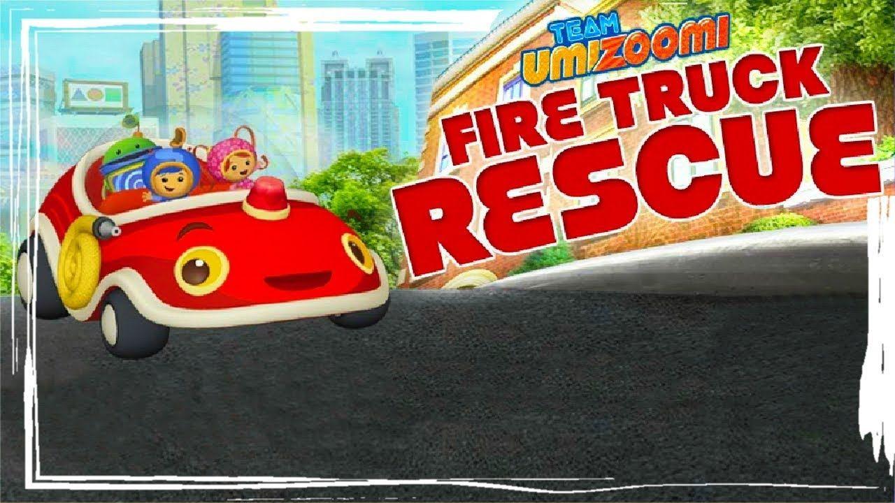 Team Umizoomi: Fire Truck Rescue - Kids Game