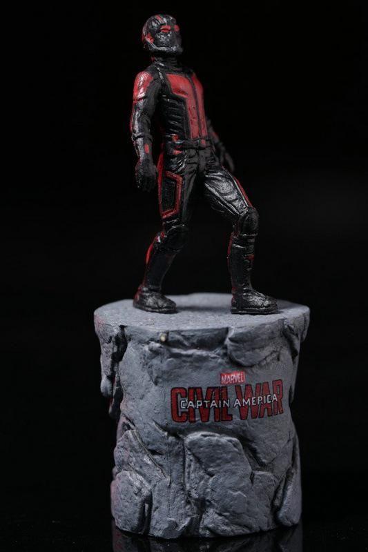 Marvel Civil War Captain America Super Hero Ant Man Wasp Mini PVC Action Figure
