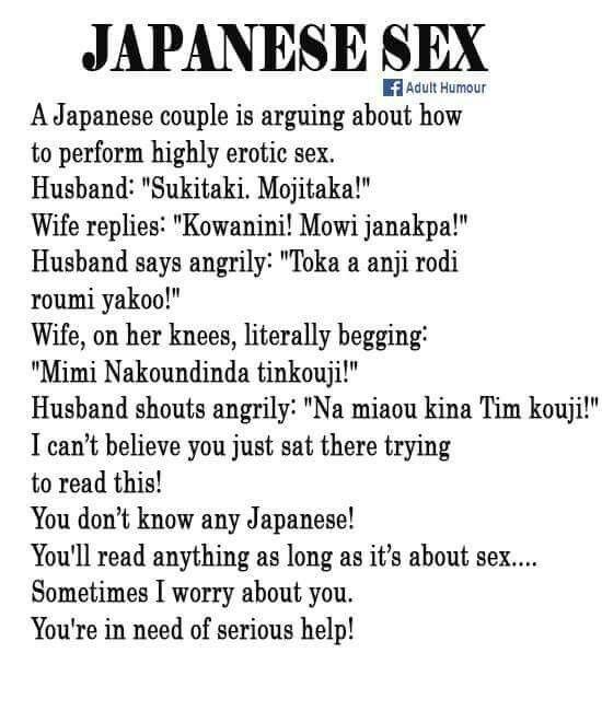 Humourous sex