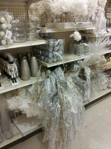 Christmas craft supplies at Michaels