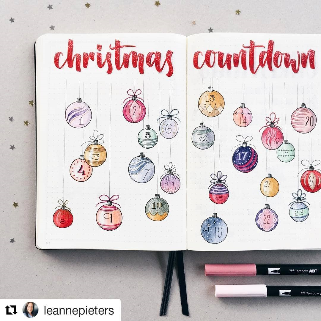 49 Stunning December Inspired Bullet Journal Spreads + December Plan with me Video! | My Inner Creative Looking for some fun and festive bullet journal theme suggestions for christmas? We have found for you 49 gorgeous christmas and festive themed bujo's to get the creative juices flowing! The festive season doesn't have to be a drag with these cute styled spreads