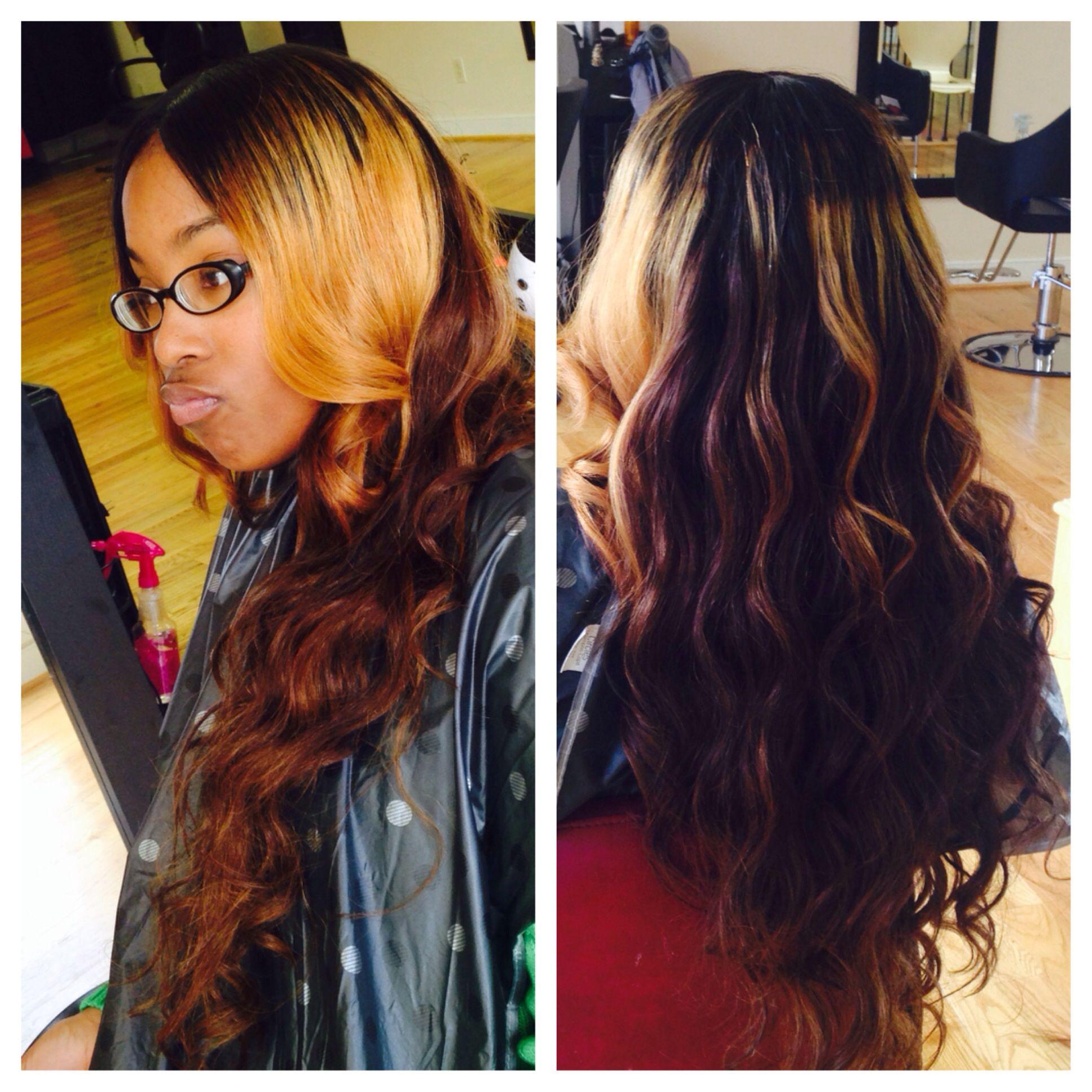 Custom Color And Closure Follow Me On Ig Fb Oras Hair Studio