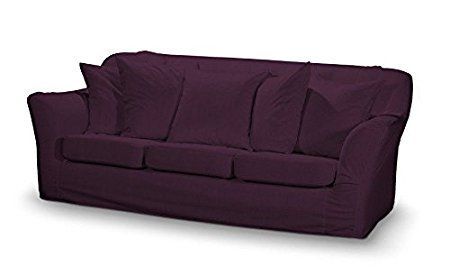 Dekoria Fire Ing Ikea Tomelilla 3 Seater Sofa Cover Purple Chenille Co Uk Kitchen Home