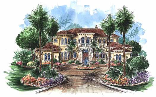 One Story Mediterranean House Plans | Mediterranean Style House ...