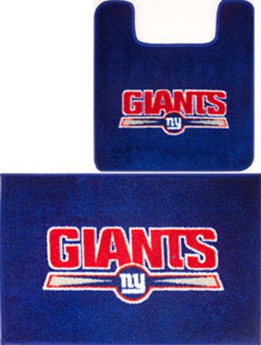 promo code 7d0f8 8b605 NEW York Giants NFL 2pc Bathroom MAT RUG Collection NEW ...