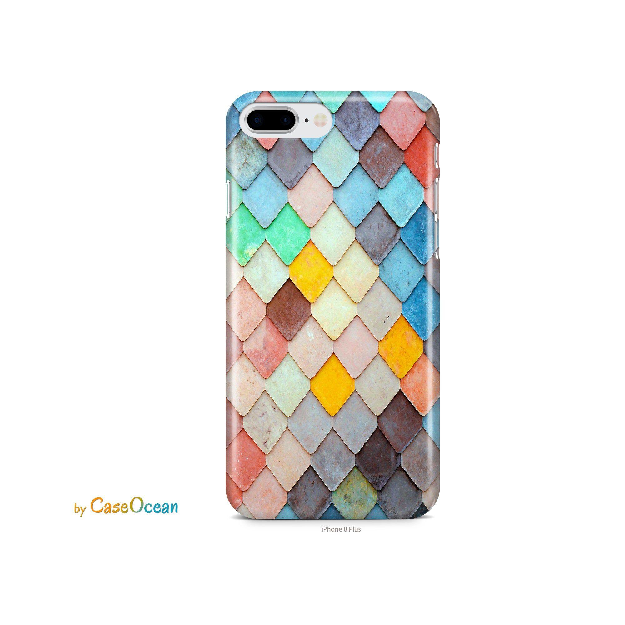 iPhone 11 case Mermaid Watercolor iPhone XR XS iPhone 8 7