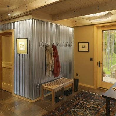 12 Great Sheet Metal Home Decor Ideas | Corrugated Metal, Metal