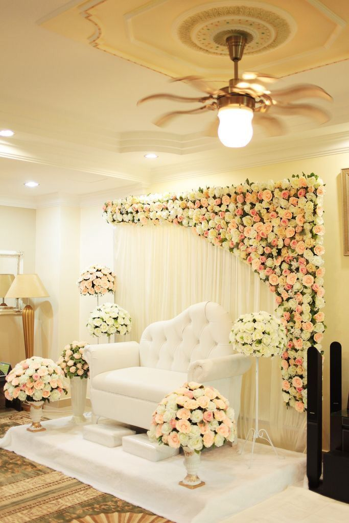 Engagement Decoration Ideas At Home Part - 26: Love The Partial Flower Background