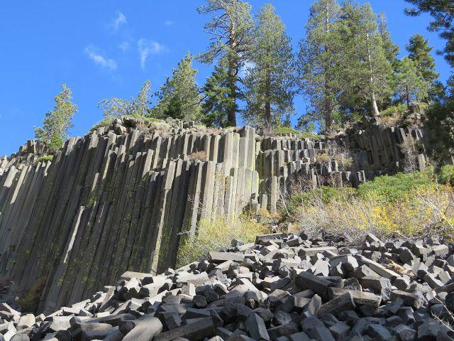Geological wonder near Mammoth Lakes, California