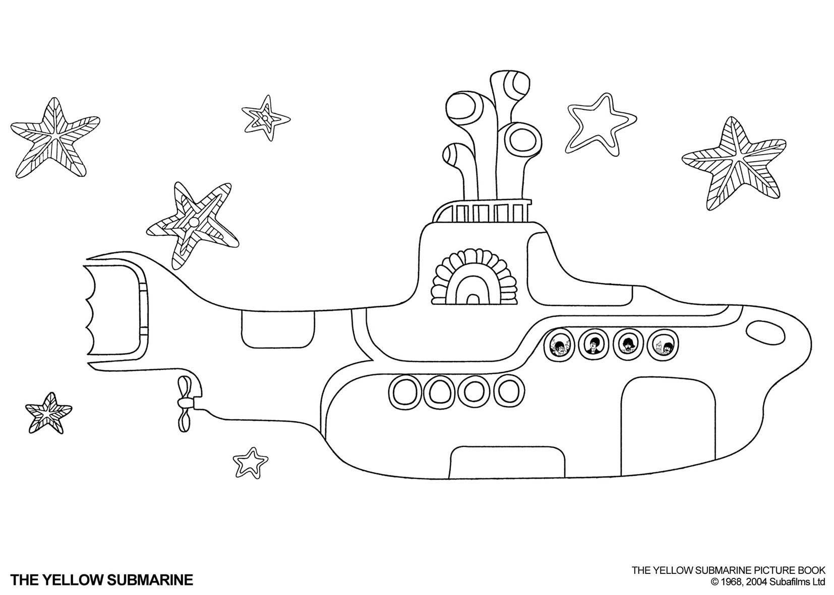 yellow submarine coloring page Google Search Boys School Ideas