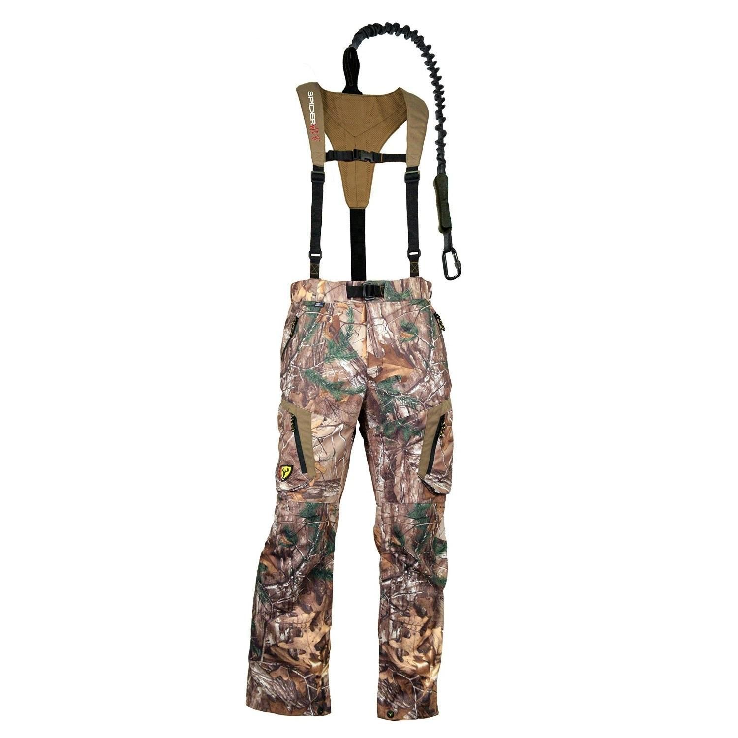 Tree Spider Mens Featherlite SpiderWeb Realtree Xtra 2XL