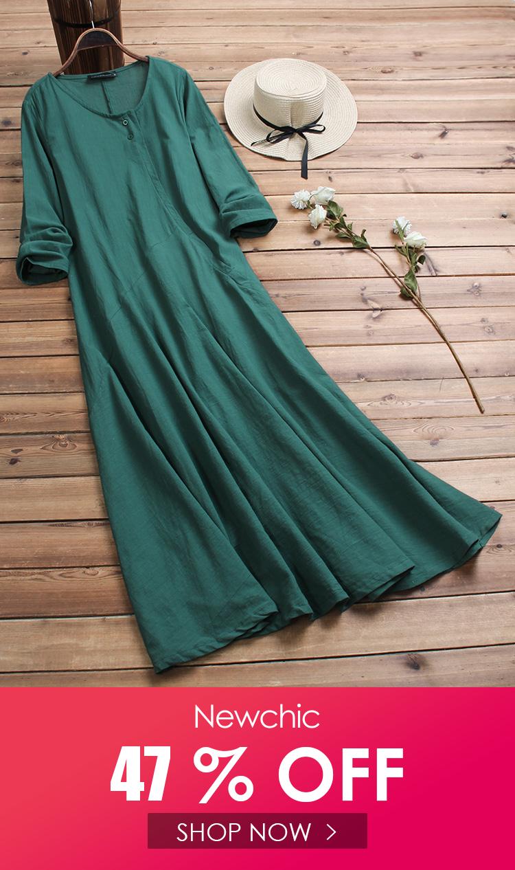 Women Vintage Cotton Tunic Baggy Long Sleeve Maxi Dress In 2020 Maxi Dress With Sleeves Cotton Tunics Long Sleeve Maxi Dress [ 1266 x 750 Pixel ]