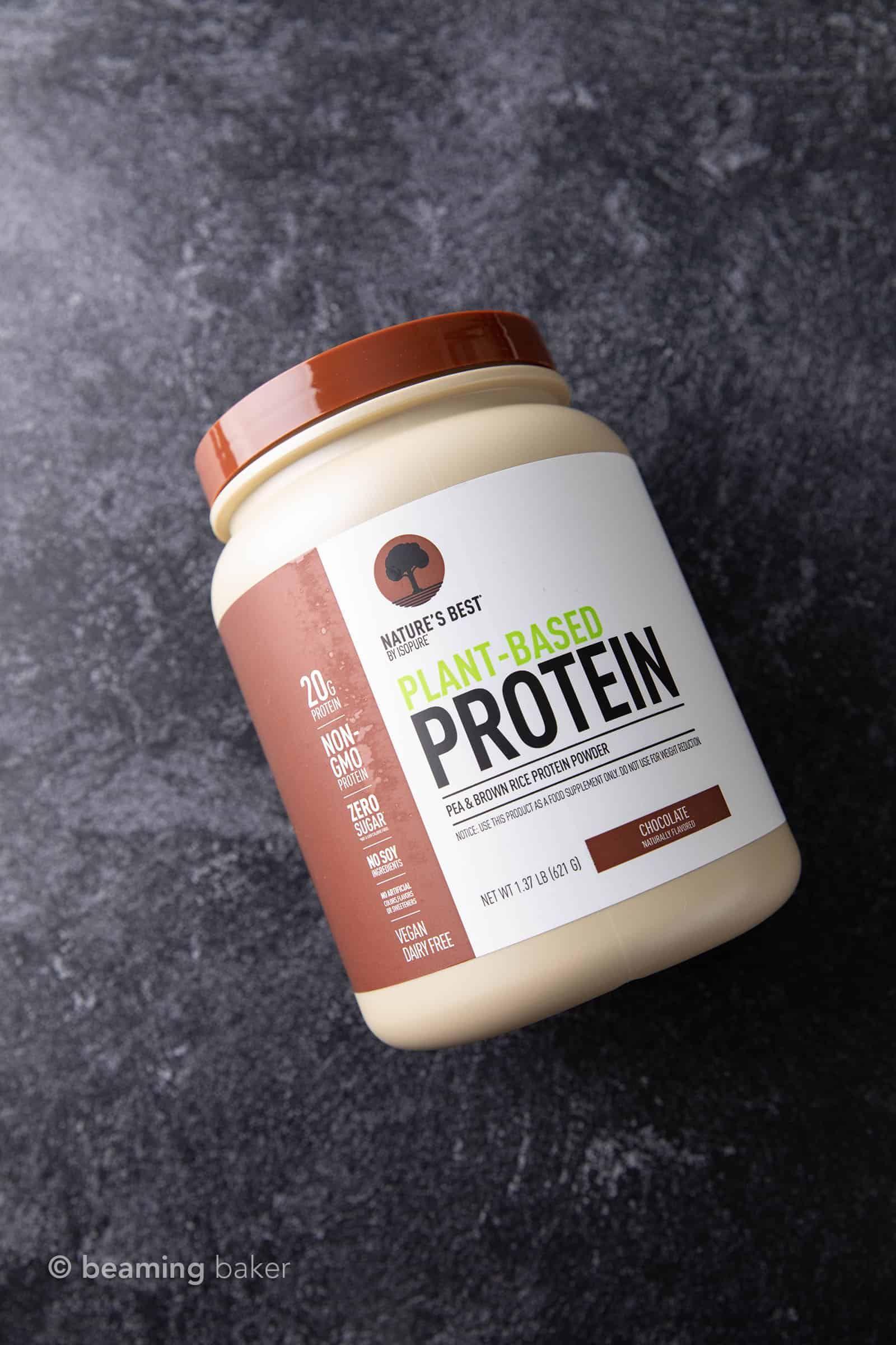 Best Vegan Protein Powder Ranked Chocolate Edition Recipe Beaming Baker In 2020 Vegan Protein Powder Best Vegan Protein Powder Pea Protein Powder