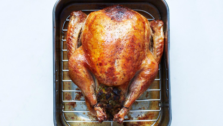 Roasted Turkey in Parchment with Gravy Recipe & Video | Martha Stewart