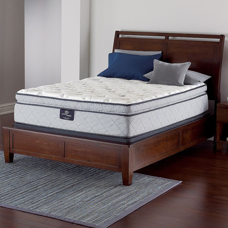 Ganwick Serta Perfect Sleeper Super Pillow Top Innerspring