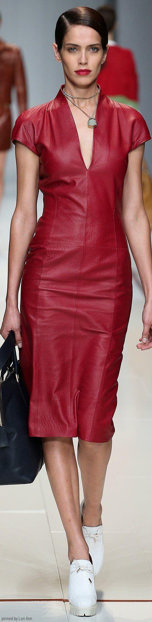 trussardi spring 2015 rtw leather amp leatherlike
