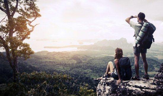 Sport für Paare: Wandern