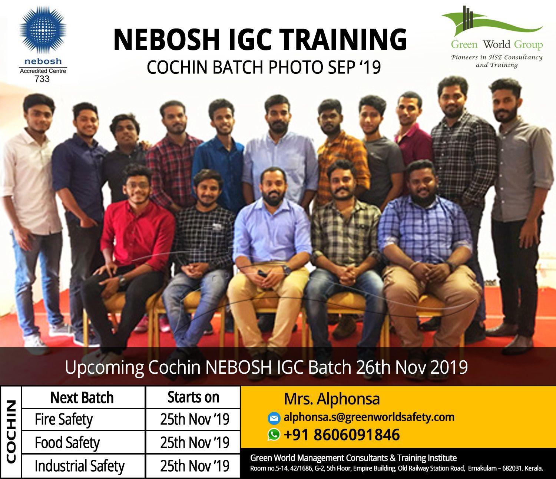 NEBOSH Safety Course in Kochi Classroom training