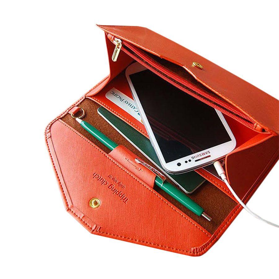 2016 Candy Farbe Dame Multifunktions Kupplung Brieftaschen, Frauen ...