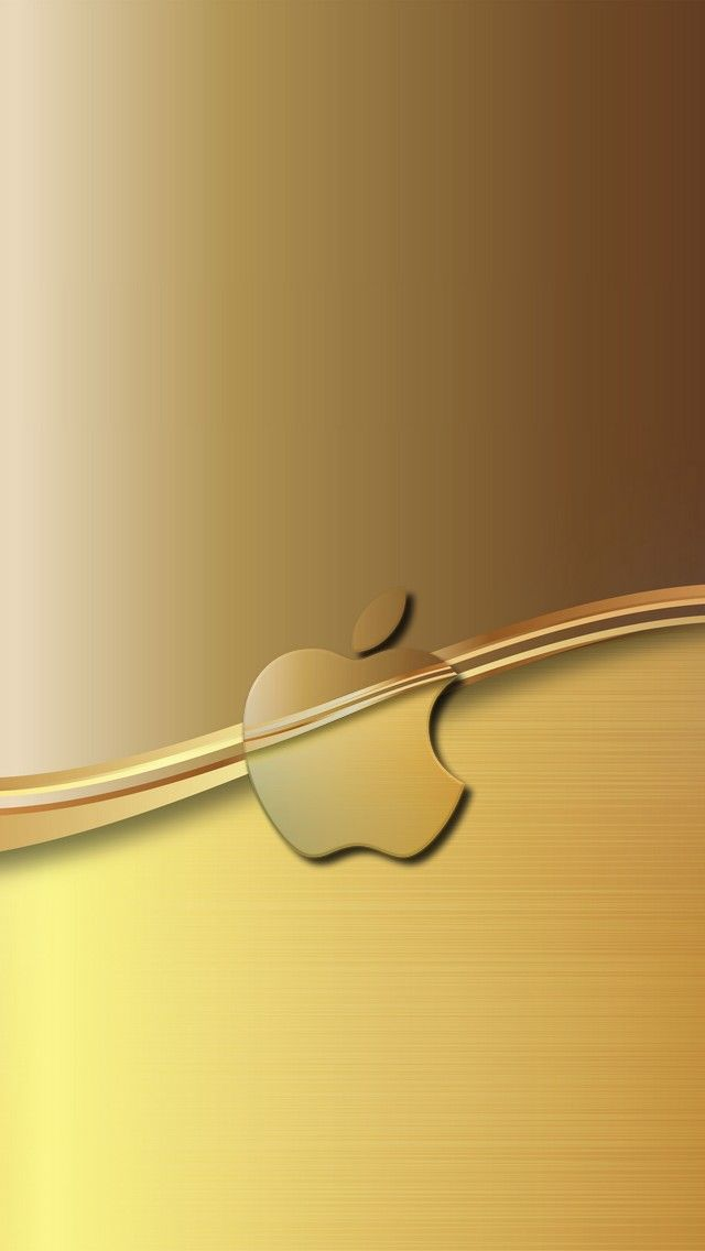 Gold Apple Apple Iphone 5s Hd Wallpapers Available For Free Download Apple Wallpaper Iphone Homescreen Wallpaper Abstract Iphone Wallpaper