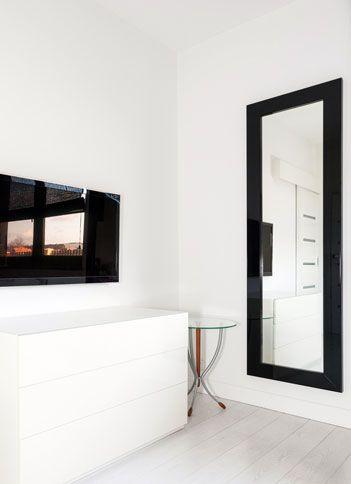 Custom Wall Mirror With Black Frame Black Mirror Frame Large Bedroom Mirror Mirror Mirror with black frame