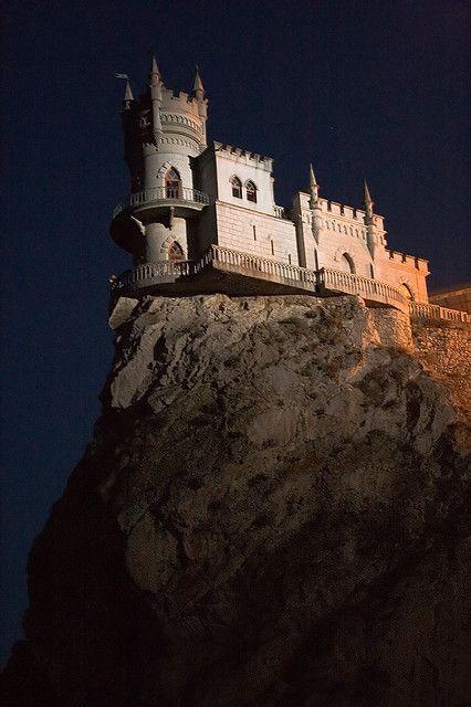 Swallow`s Nest Castle. Crimea. | Crimea, Artek, Gurzuf ...