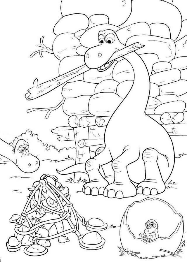 13 fun arlo the good dinosaur coloring pages for children