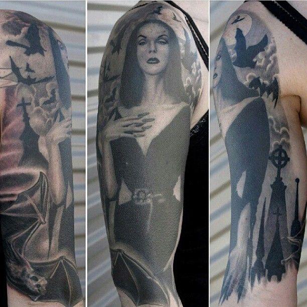 Vampira Tattoo Vampira tattoo done by...