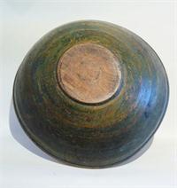Bowl In Green Paint From Sharon Platt