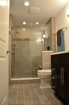 Masculine Bathroom Renovation   Contemporary   Bathroom   Dc Metro   RJK  Construction Inc