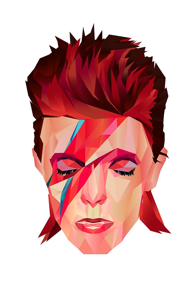 Il Ritorno Illustrato Di Ziggy Stardust David Bowie Illustrazioni