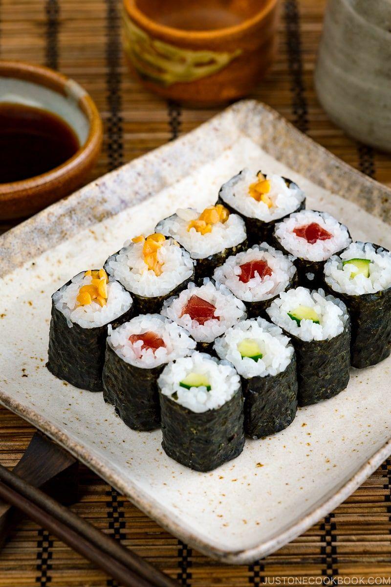 Maki Sushi Recipe A Couple Cooks Recipe Sushi Recipes Japanese Food Sushi Sushi Recipes Homemade
