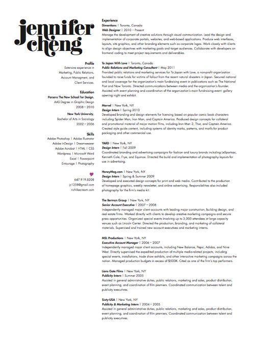 30 Great Examples Of Creative CV Resume Design  blood pressure  Graphic design resume
