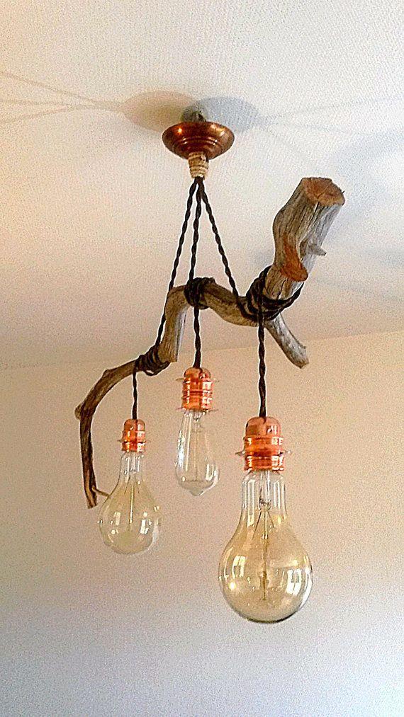 luminaire suspension lampes industrielles luminaire bois luminaire et bois. Black Bedroom Furniture Sets. Home Design Ideas