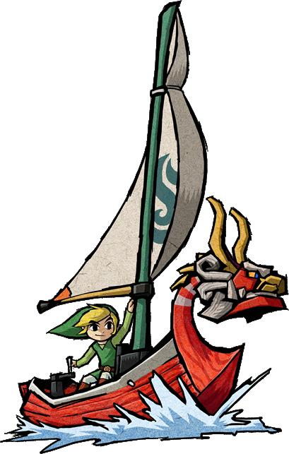 Zelda-Wind-Waker-Link-Boat-King-of-Red-Lions.png (409×643)
