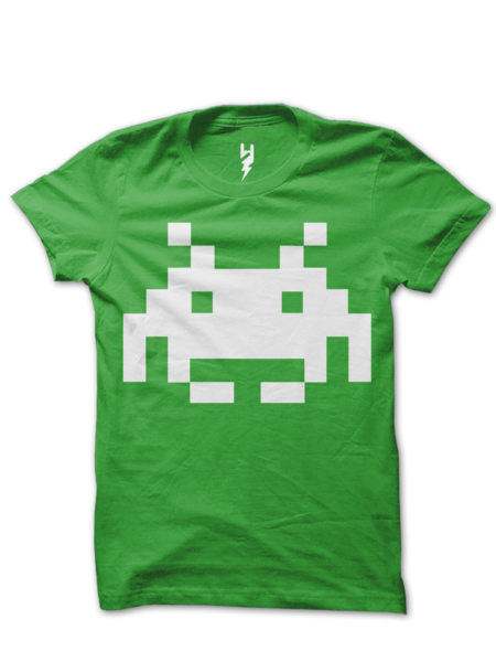 For Deadmau5 Has The Space Invader Tattoo On His Neck Deadmau5 Music Tribute T Shirt T Shirt Mens Tops Graphic Tees