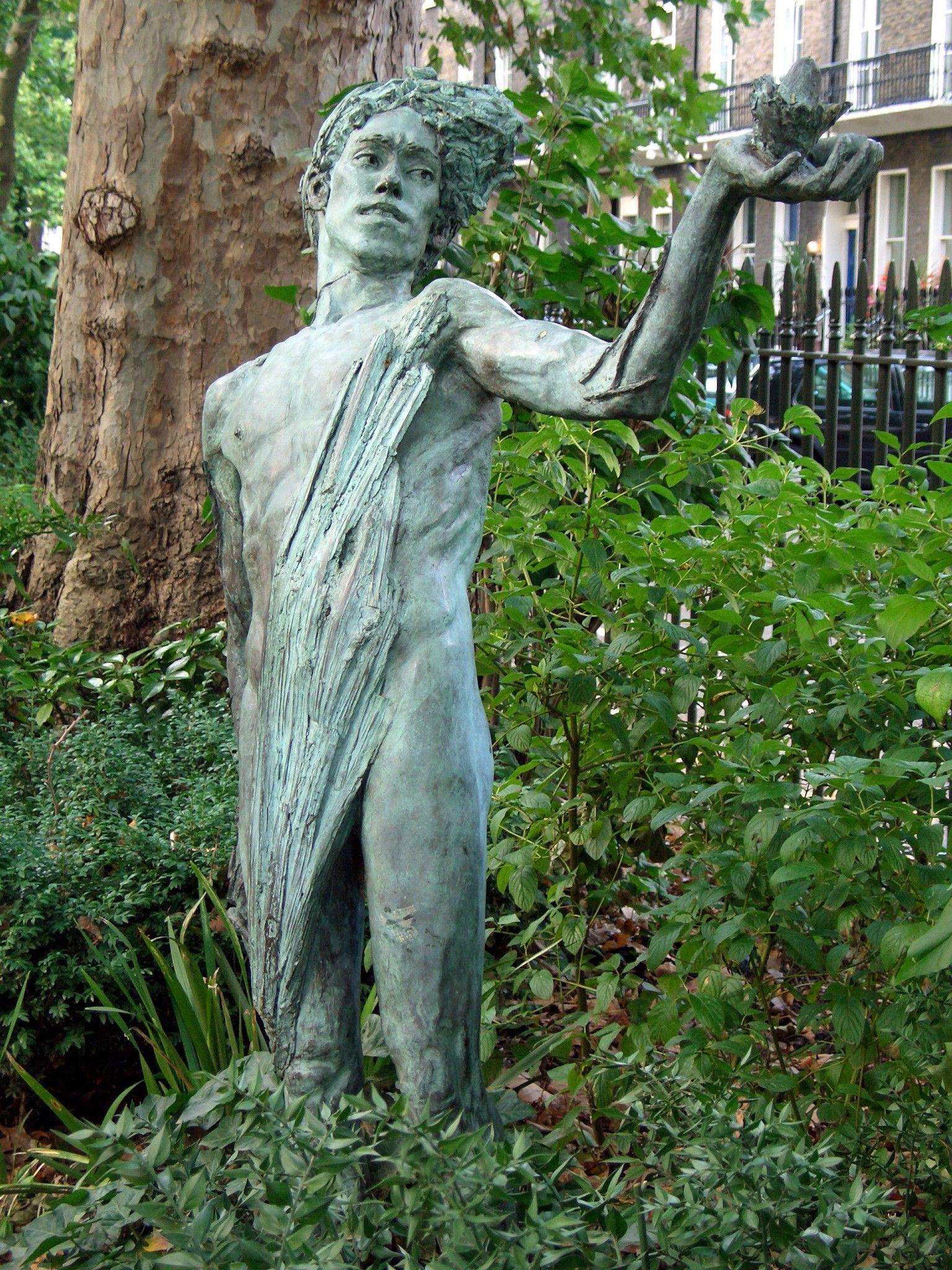 Delightful Description The Green Man By Lydia Kapinska, Woburn Square, London.JPG
