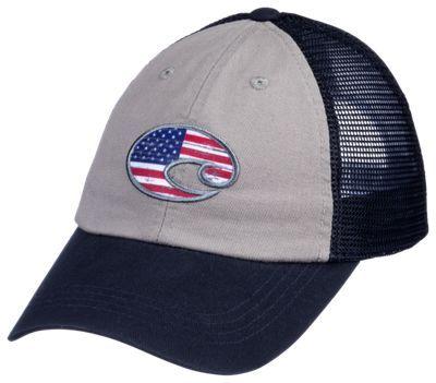 Costa United Trucker Cap - Navy/Gray