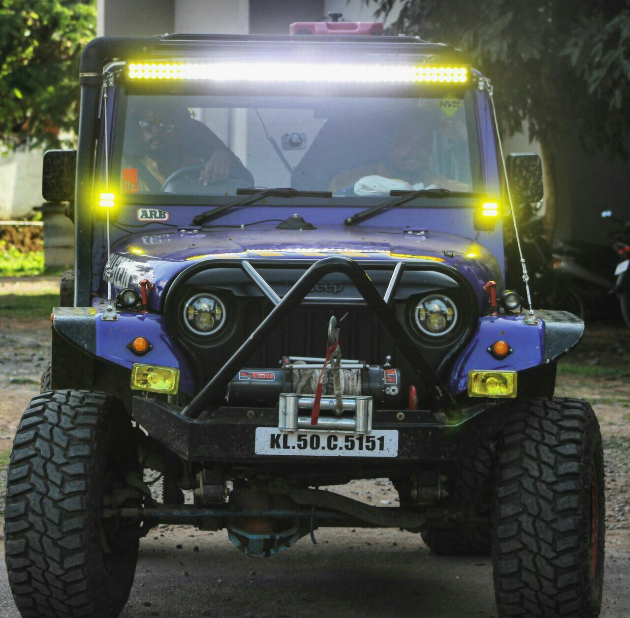 My Mahindra Cj340 Jeep