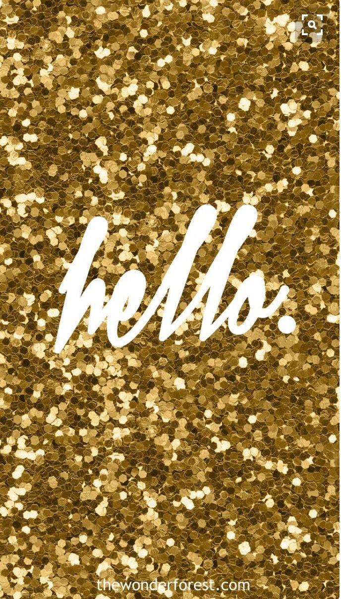 Cute And Girly Ipod Wallpaper Glitter Wallpaper Hello Wallpaper