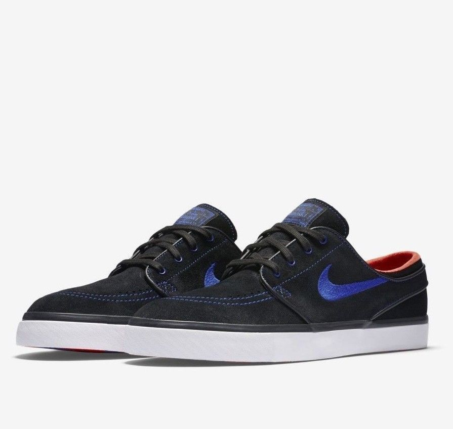 quality design 2b329 53e04 Nike SB Zoom Stefan Janoski Mens Skate Shoes 11 Black Racer Blue 333824 048   Nike  SkateShoes