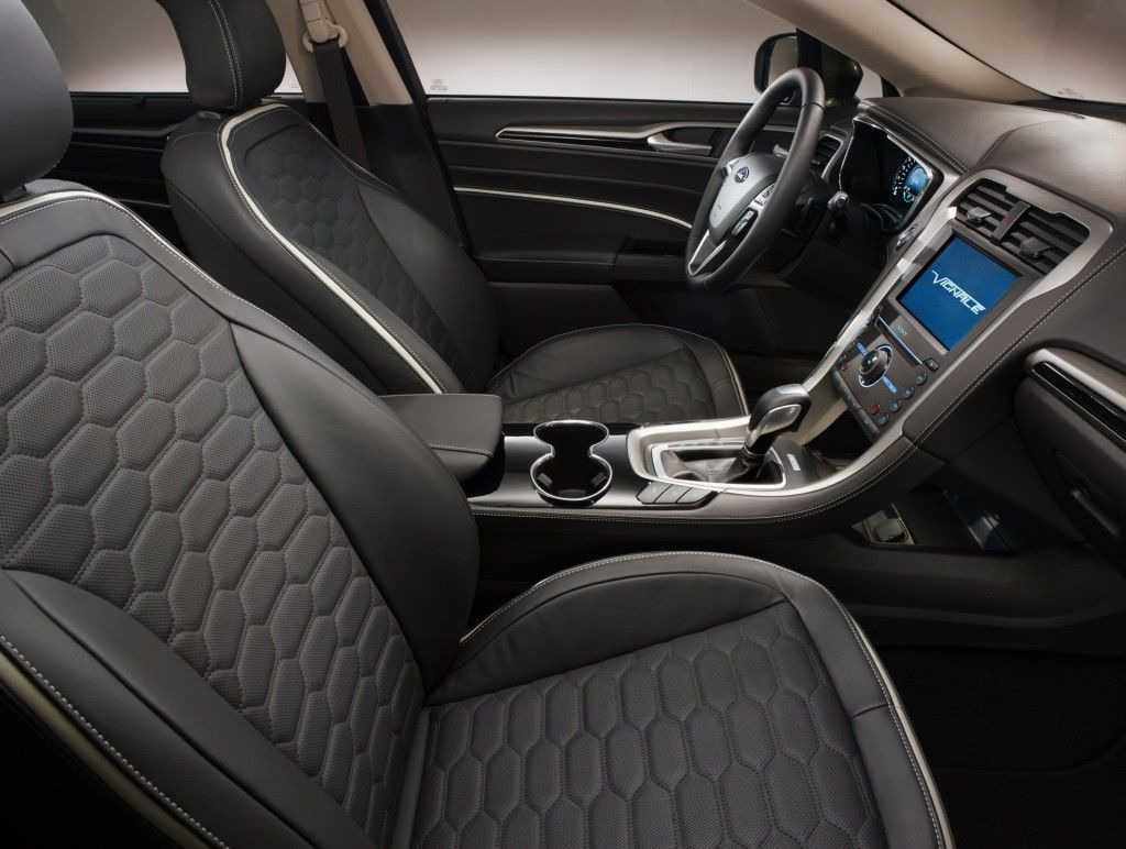 The Mondeo Vignale Interior Was Heavily 3d Prototyped Ford