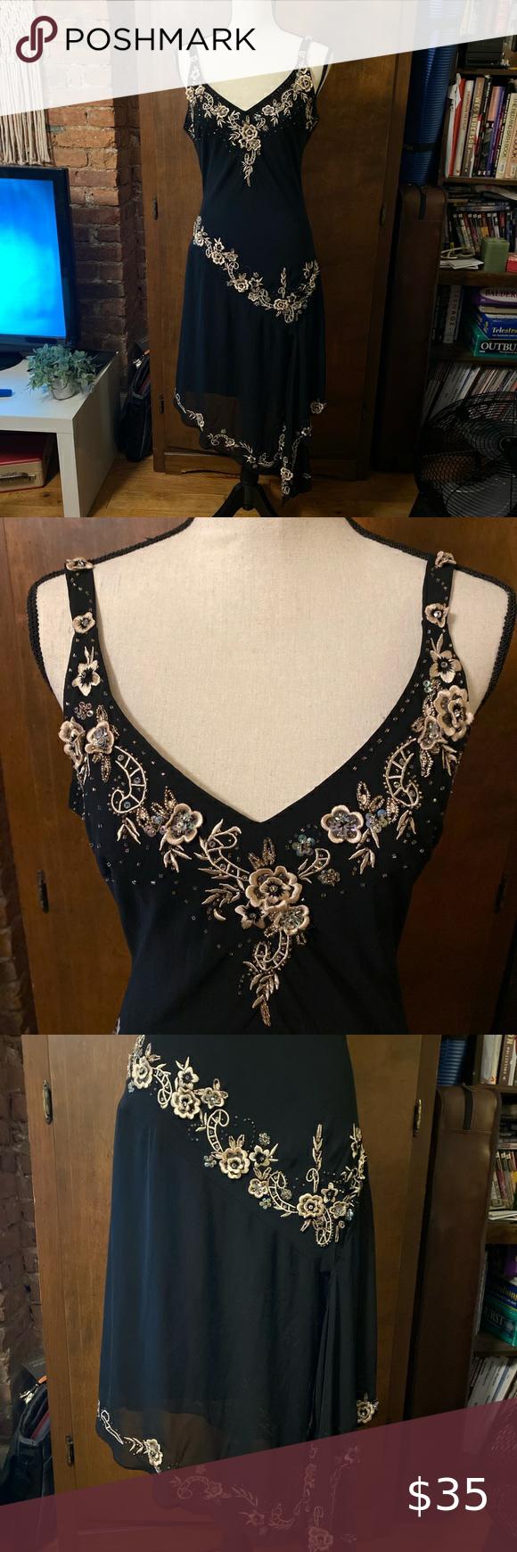 Vintage Black Stevie Nicks Midi Dress M Midi Dress Vintage Dresses Vintage Black [ 1740 x 580 Pixel ]