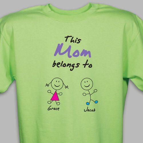 You Belong With T-Shirt - Monogram Online