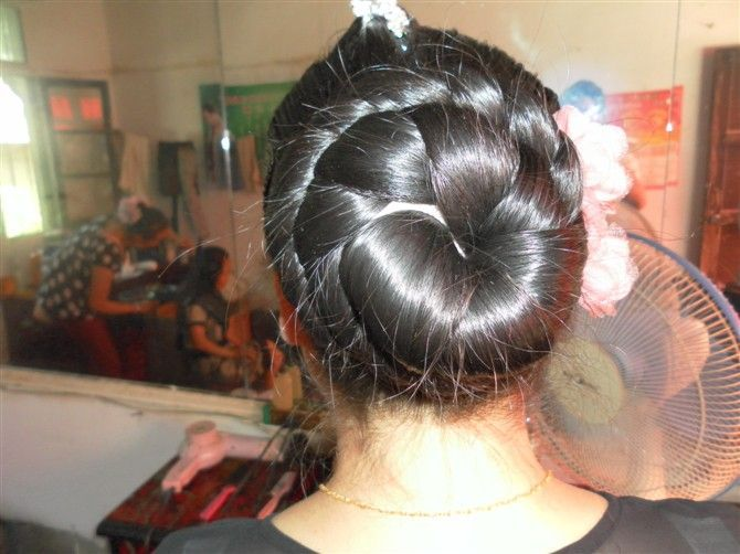 ChinaLongHair Forum-Long Hair Ptos-Big bun loose to curly long ...