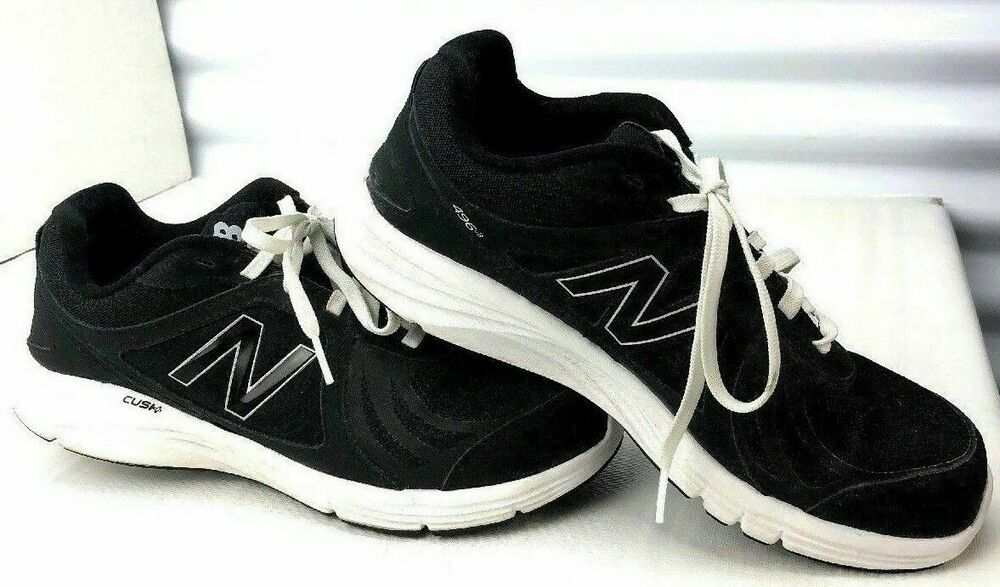 aedf20ddc0 Womens New Balance 11 Black White Sneaker Tennis WW496MBW 496 ...