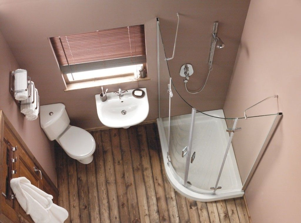Marvelous Small Apartment Bathroom Ideas With Corner Toilet And Corner  Shower Stall