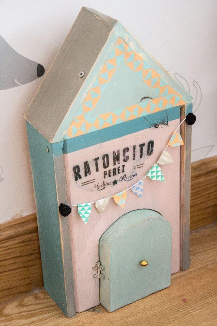 Casita raton perez 33 raton perez y diente de leche diy for kids diy toys y diy - Raton en casa ...